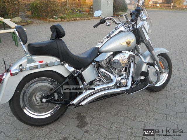 2006 Harley Davidson  FLST Fat Boy 15th Aniversery Fatboy FI Motorcycle Chopper/Cruiser photo