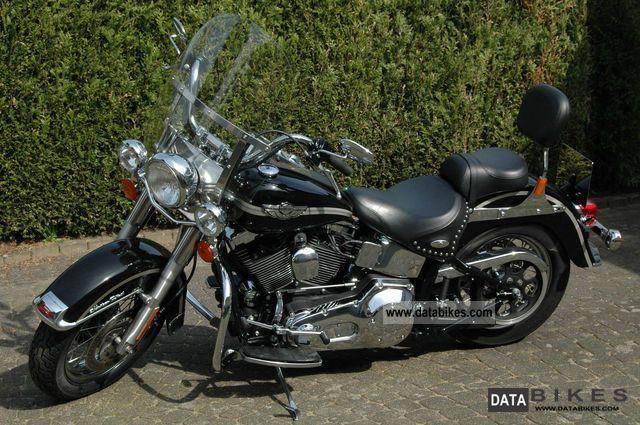 2003 Harley Davidson  Softail Heritage Classic 100 years FLSTCI Motorcycle Chopper/Cruiser photo