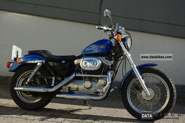 1996 Harley Davidson  1200 Sportster 1996-HSR 42 carburetor Motorcycle Chopper/Cruiser photo