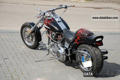 1984 Harley Davidson  FXST Motorcycle Chopper/Cruiser photo