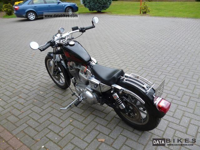 1988 Harley Davidson Sportster Xl 883 Sporty border=