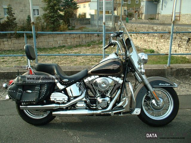 2005 Harley Davidson  Heritage Softail Classic FLSTCI, Topzst., 1 J.Gewä Motorcycle Chopper/Cruiser photo