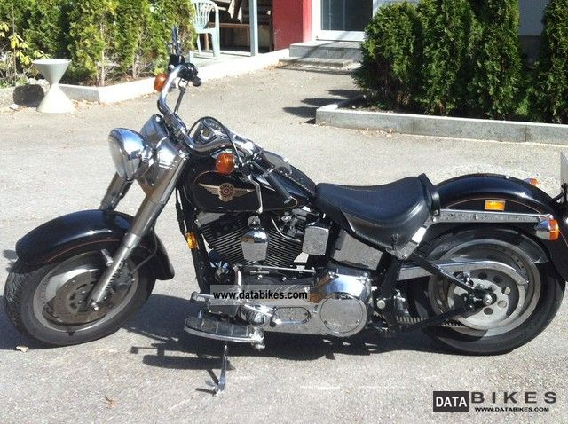 1997 Harley Davidson  Fat boy Motorcycle Chopper/Cruiser photo