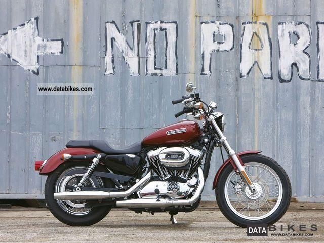 2005 Harley Davidson  XL 1200 Motorcycle Chopper/Cruiser photo