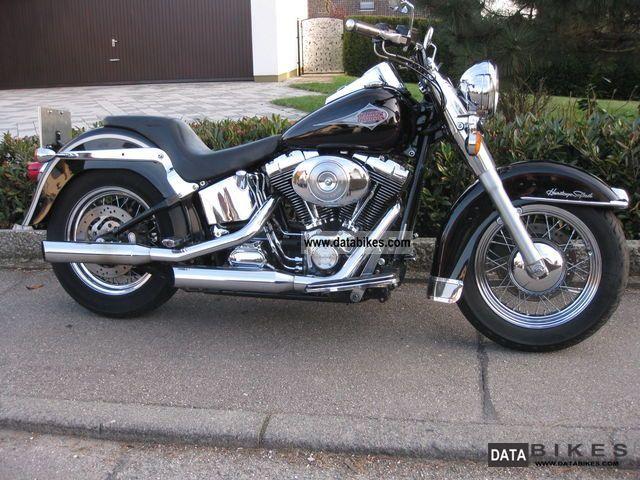2002 Harley Davidson  Heritage FLSTCI Motorcycle Chopper/Cruiser photo