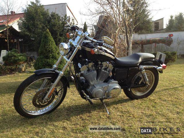 2003 Harley Davidson  XL883 Motorcycle Chopper/Cruiser photo