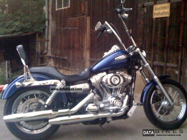 2006 Harley Davidson  Super Glide Custom model 2007 Motorcycle Chopper/Cruiser photo