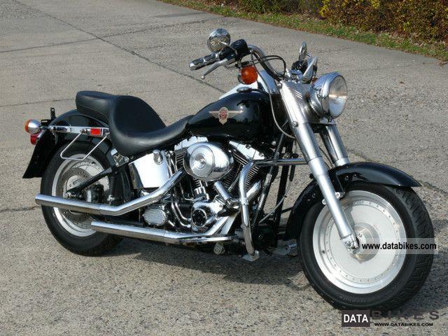 Harley Davidson  FLSTF Fat Boy! black! 2001 Chopper/Cruiser photo