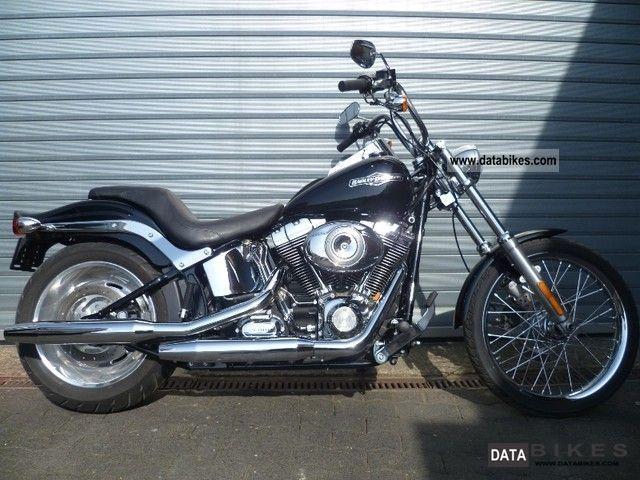 2009 Harley Davidson  FXSTC Softail Custom only 2500 km! Motorcycle Chopper/Cruiser photo