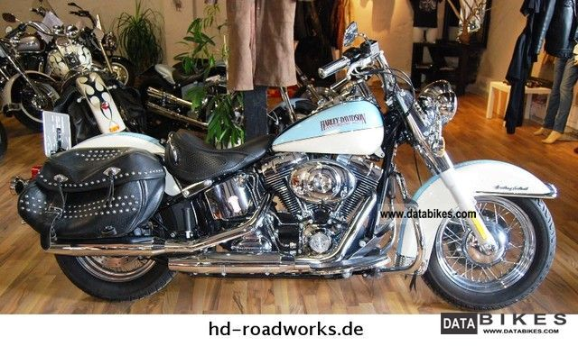 2009 Harley Davidson  Heritage Softail FLSTCI TOP CONDITION Motorcycle Chopper/Cruiser photo