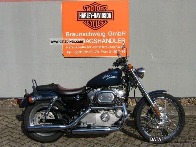 2000 Harley Davidson  Sportster Custom XL883C Motorcycle Chopper/Cruiser photo