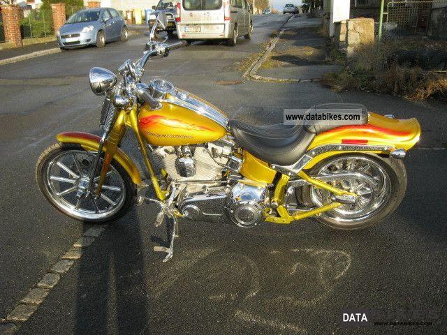 2007 Harley Davidson  SCREAMIN EAGLE CVO Softail Springer Motorcycle Chopper/Cruiser photo