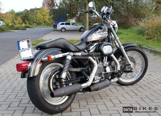 1994 Harley Davidson  Sportster 1200 XL Motorcycle Chopper/Cruiser photo