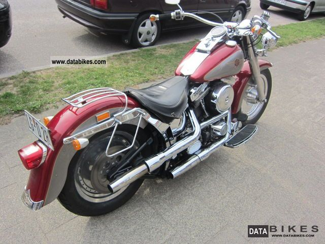 1993 Harley Davidson  FXST Softail Fatboy Motorcycle Chopper/Cruiser photo