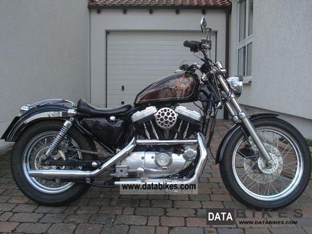 1990 Harley Davidson Sportster XL 2 XLH 883 Chopper Bike