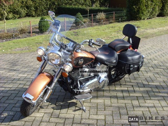 2008 Harley Davidson  Softail FS2 Special Model 105 TH + Navi Motorcycle Chopper/Cruiser photo