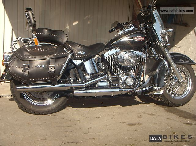 2006 Harley Davidson  Heritage FLSTCI Motorcycle Chopper/Cruiser photo