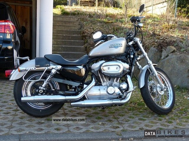 2008 Harley Davidson  XL 883 L Motorcycle Chopper/Cruiser photo