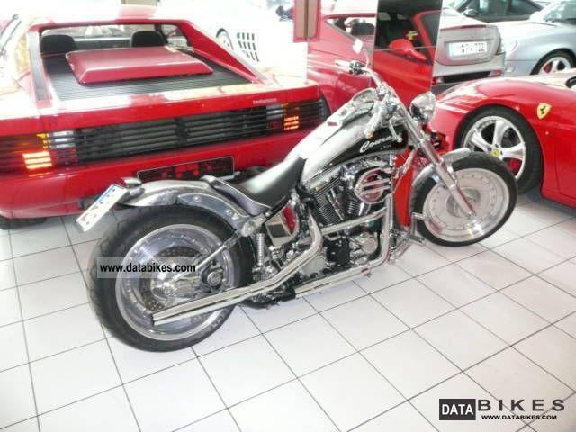 1998 Harley Davidson  FXST COMPLETE CONVERSION UNIKAT Motorcycle Chopper/Cruiser photo