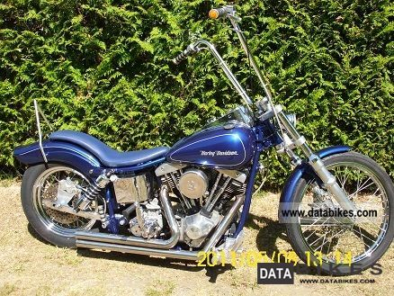 Harley Davidson  Shovelhead 1979 Vintage, Classic and Old Bikes photo