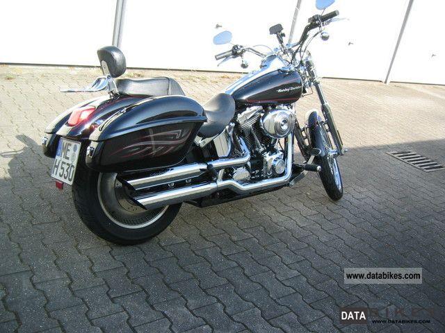 2002 Harley Davidson  Deuce Motorcycle Chopper/Cruiser photo