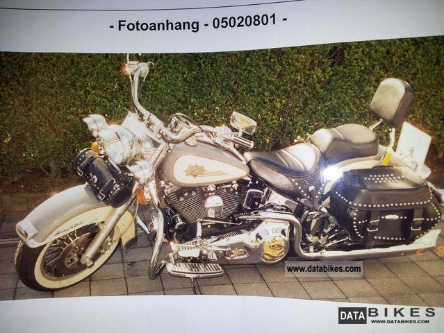 1999 Harley Davidson  Softail Motorcycle Chopper/Cruiser photo