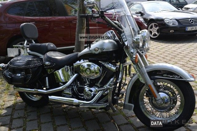 2003 Harley Davidson  Heritage Softail 100th Anniversary Motorcycle Motorcycle photo