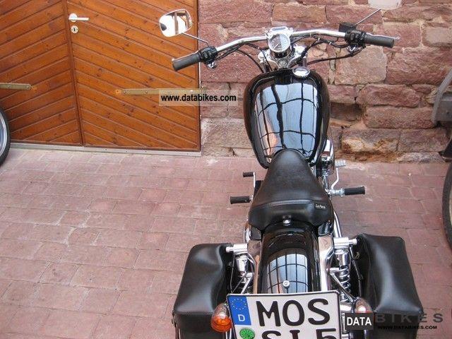 2002 Harley Davidson  sportster 883 type xl1 Motorcycle Chopper/Cruiser photo
