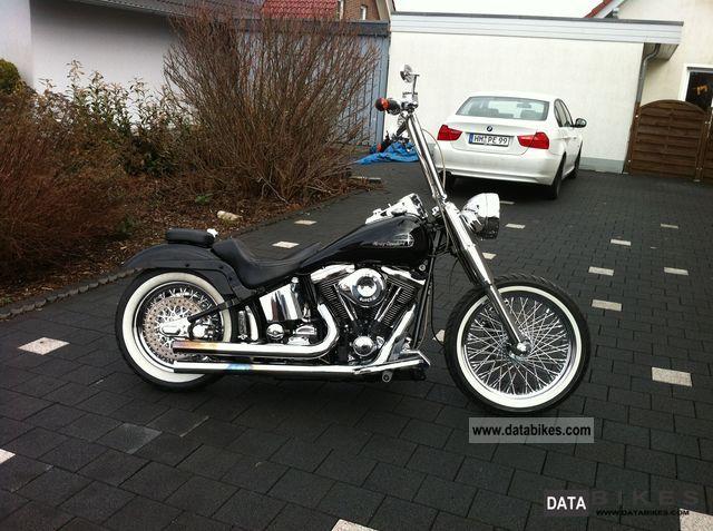 1988 Harley Davidson  FXST Softail Motorcycle Chopper/Cruiser photo