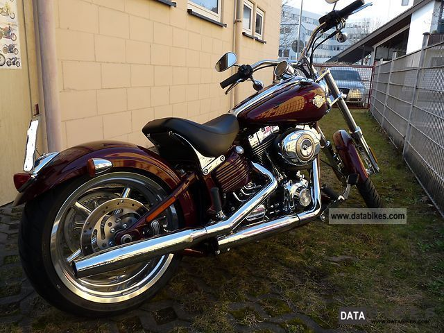 2010 Harley Davidson  Rocker C Motorcycle Chopper/Cruiser photo