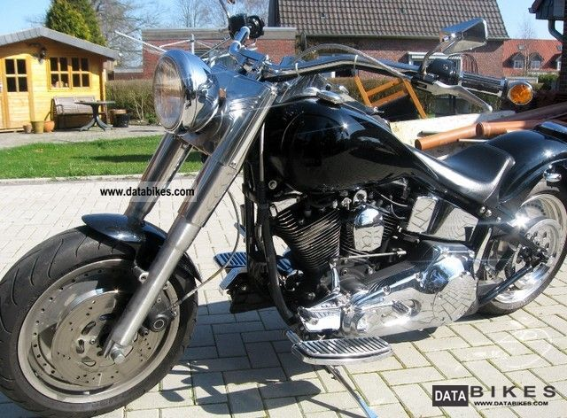 Harley Davidson  FLSTF Fat Boy Softail Evo 1999 Chopper/Cruiser photo