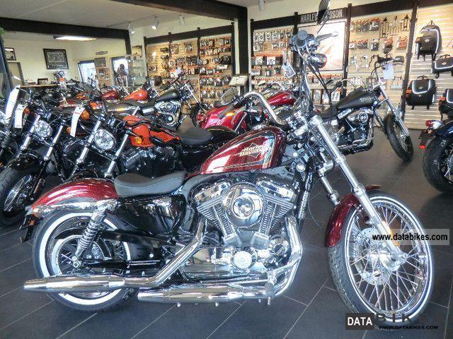 2012 Harley Davidson  XL 1200 V SEVENTY-TWO 72 SPORTSTER Motorcycle Chopper/Cruiser photo