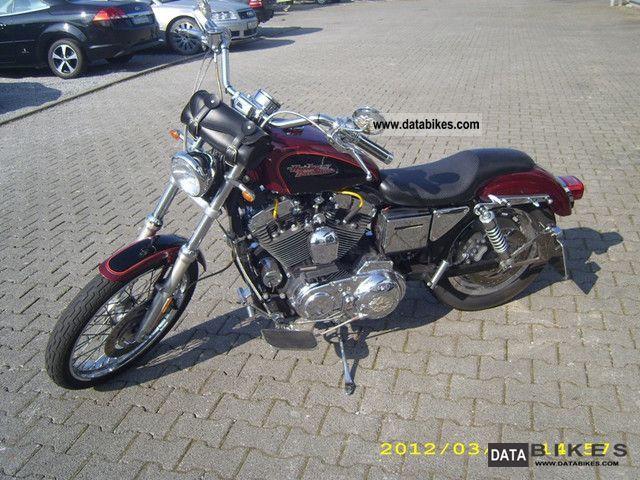 2000 Harley Davidson  Sportster 1200 Custom Motorcycle Chopper/Cruiser photo