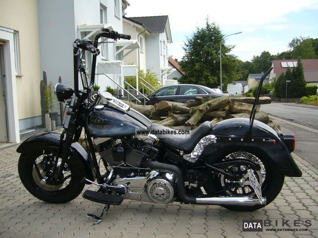 2007 Harley Davidson  Springer Softail Classic Motorcycle Chopper/Cruiser photo