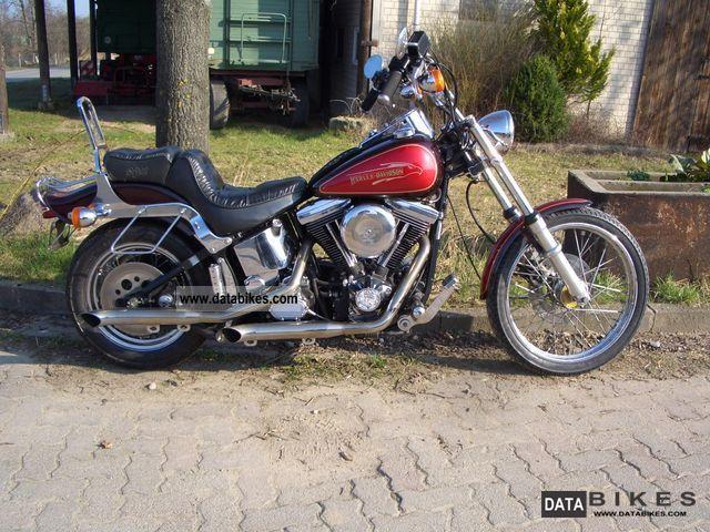 1990 Harley Davidson  Softail Motorcycle Chopper/Cruiser photo