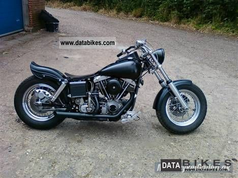 1979 Harley Davidson  1200 E-Glide FLH CONVERSION MATT SCHWARTZ Motorcycle Chopper/Cruiser photo