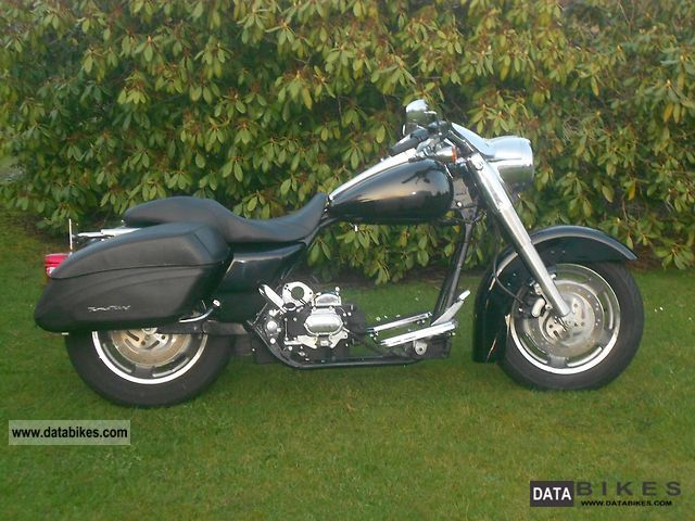 2002 Harley Davidson  Road King 2002 Rolling Chassis Motorcycle Chopper/Cruiser photo