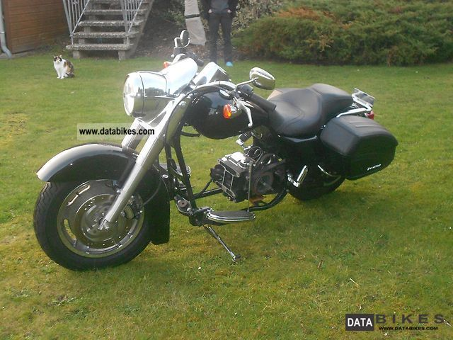 Harley Davidson Road King Rolling Chassis Lgw on Sportster Chopper Chassis