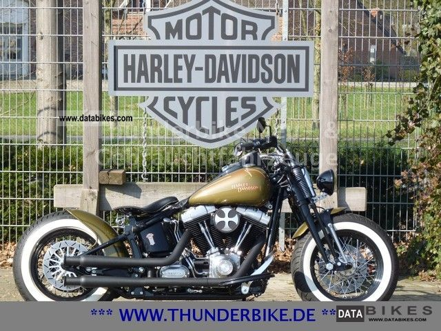2008 Harley Davidson  FLSTSB crossbones Thunderbike conversion Motorcycle Chopper/Cruiser photo
