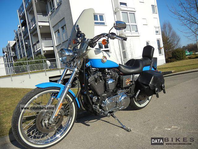2002 Harley Davidson  Sportster Custom Motorcycle Chopper/Cruiser photo