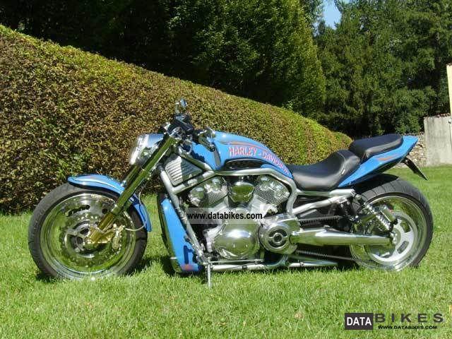 2007 Harley Davidson  Screamin 'Eagle V-Rod 300 Motorcycle Streetfighter photo