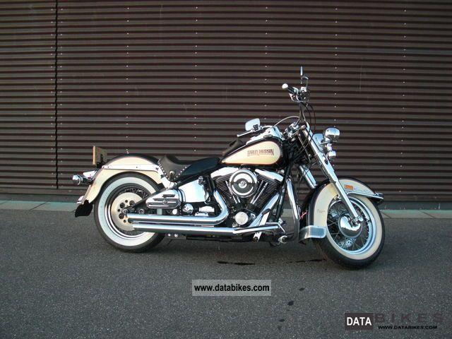 1988 Harley Davidson  FLSTC Heritage Softail Motorcycle Chopper/Cruiser photo