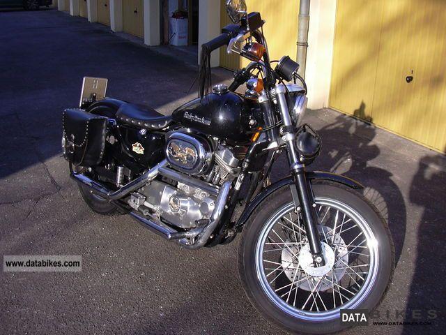 Harley Davidson  Sportster 883 Hugger 1994 Chopper/Cruiser photo