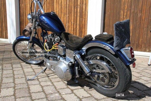 1986 Harley Davidson  Shovelhead Motorcycle Chopper/Cruiser photo
