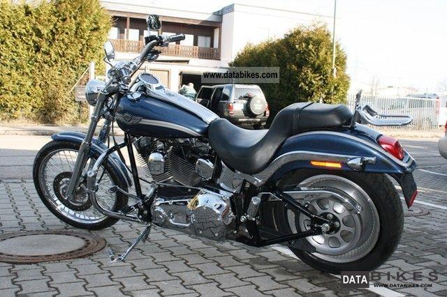 2003 Harley Davidson  FXSTDI Motorcycle Chopper/Cruiser photo
