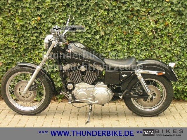 1998 Harley Davidson  XL 1200C Sportster - various accessories Motorcycle Chopper/Cruiser photo