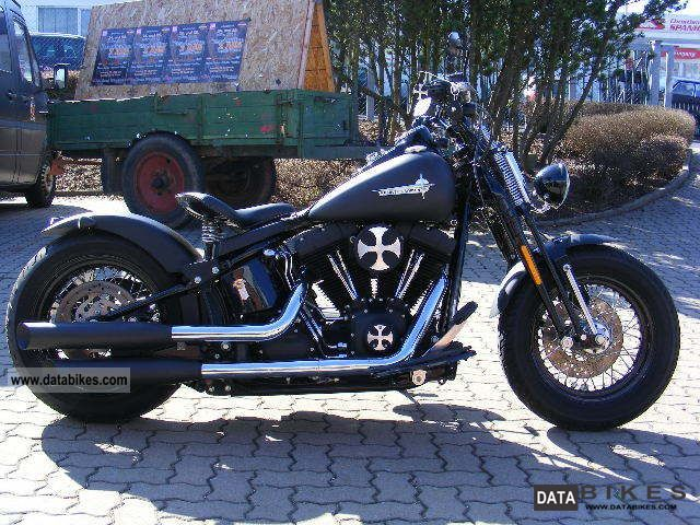 Harley Davidson  Cross Bones bobber conversion FLSTSB 2008 Chopper/Cruiser photo