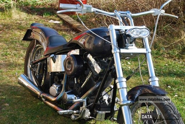 Harley Davidson  Rigid frame EVO 1340 1954 Vintage, Classic and Old Bikes photo