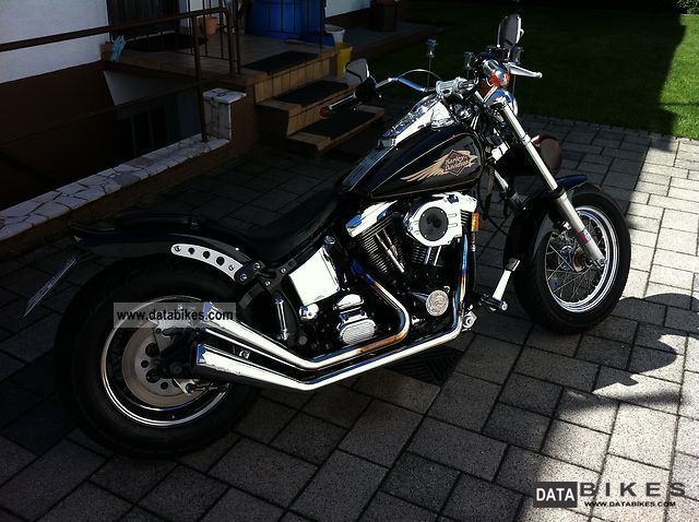 1997 Harley Davidson  Softail FXST coustom Motorcycle Chopper/Cruiser photo