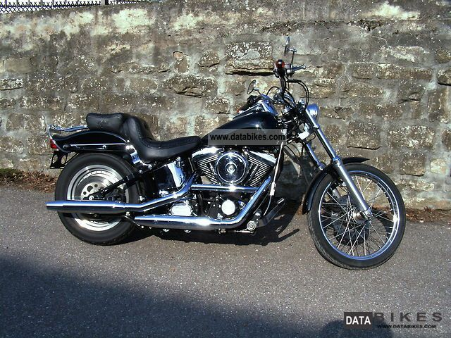 1995 Harley Davidson  FXSTC Motorcycle Chopper/Cruiser photo